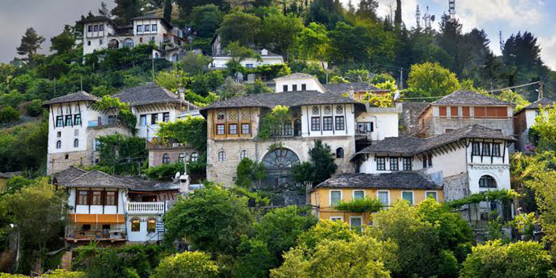Argirocastro Albania castello borgo