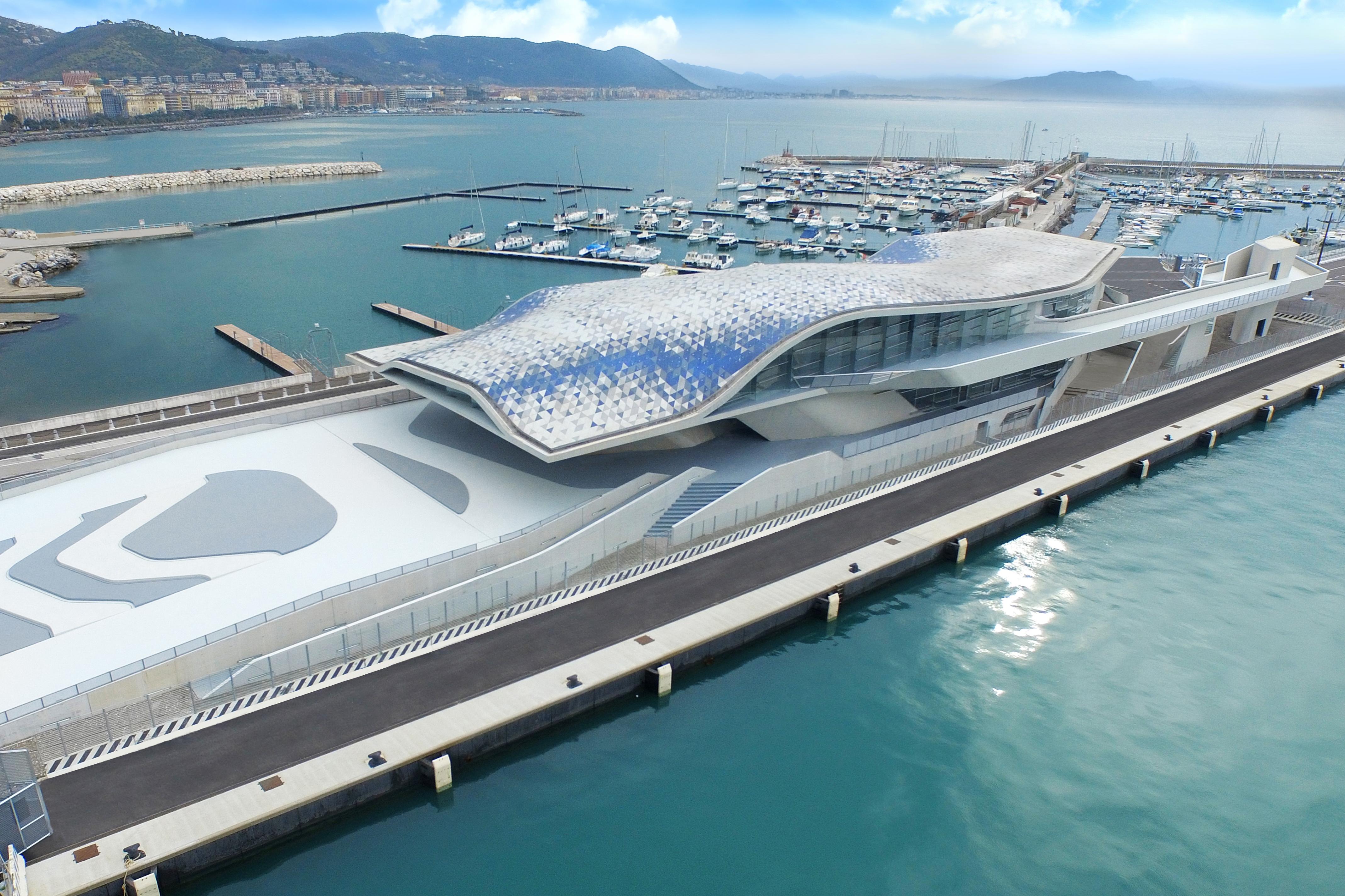 Salerno porto architettura contemporanea
