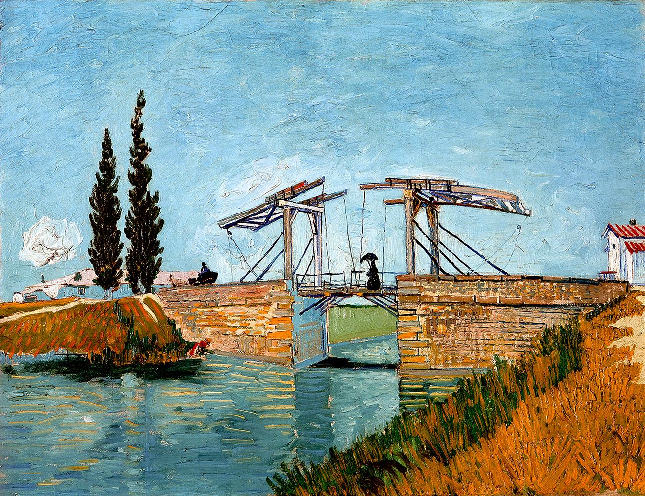 Vincent Van Gogh Ponte di Langlois